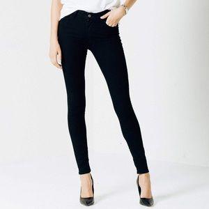 NWT Candie's Black Jegging Denim Skinny Jeans Sz 1